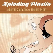 Xploding Plastix/AMATEUR GIRLFRIENDS LP