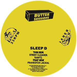 Sleep D/THE JACKEL EP 12""