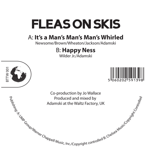 Fleas On Skis/IT'S A MAN'S WHIRLED 12""