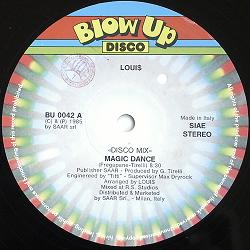 Loui$/MAGIC DANCE & PINK FOOTPATH 12""