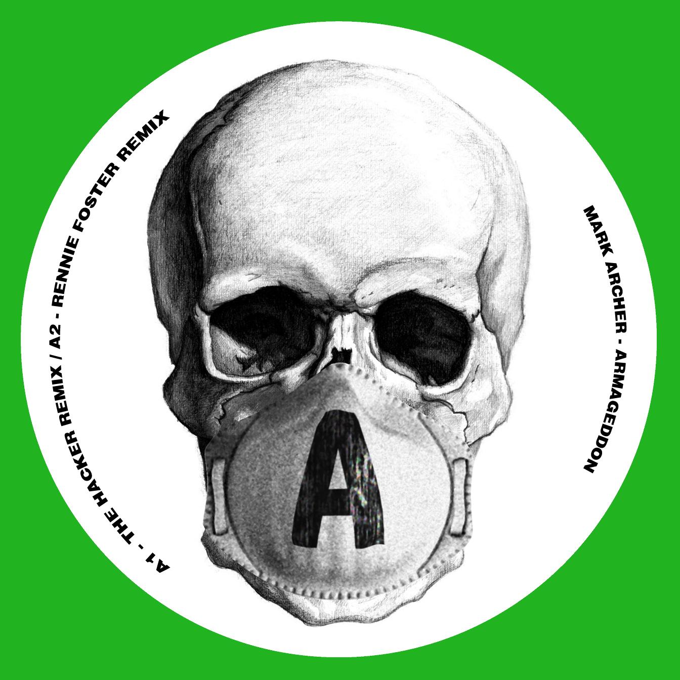 "Mark Archer/ARMAGEDDON REMIXES PT 2 12"""