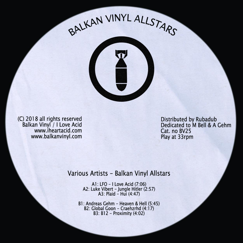 """Various/BALKAN VINYL ALLSTARS 12"""""""
