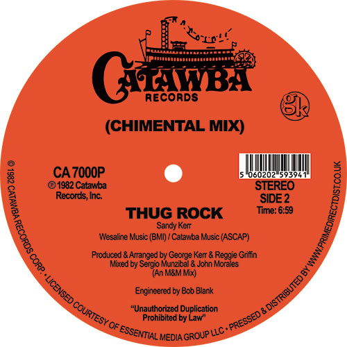 Sandy Kerr/THUG ROCK 12""