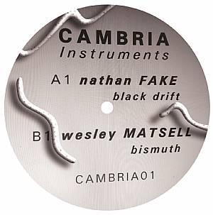 """Nathan Fake & W. Matsell/CAMBRIA 01 12"""""""