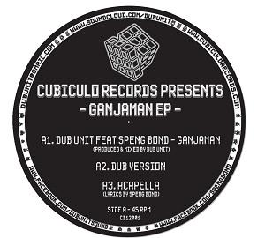 """Dub Unit/GANJAMAN EP 12"""""""