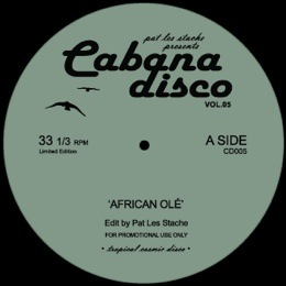 Pat Les Stache/CABANA DISCO VOL 5 12""