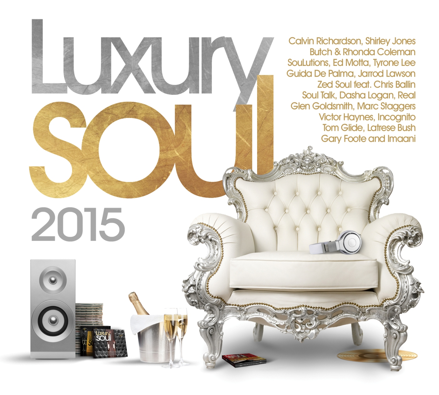 Various/LUXURY SOUL 2015 3CD
