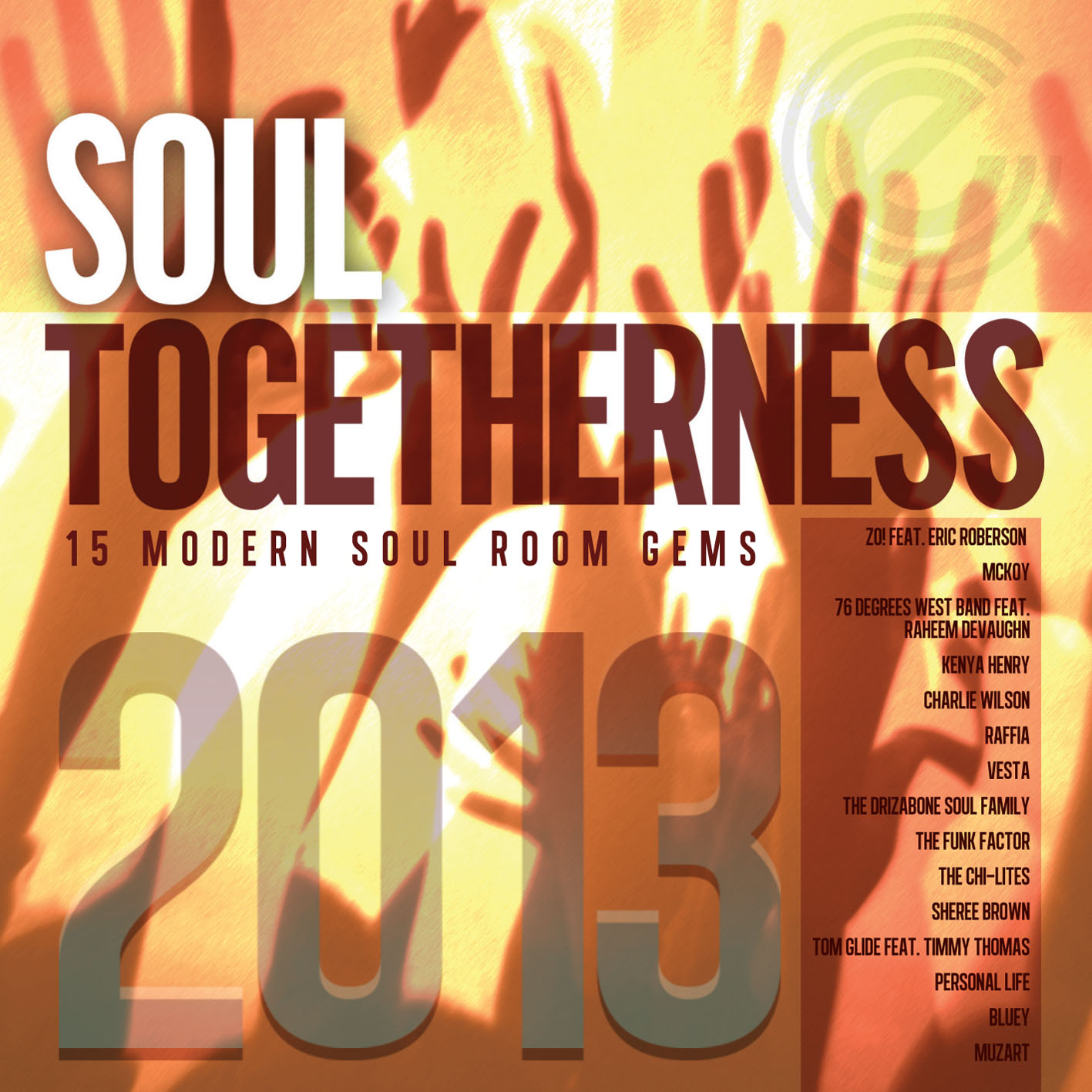 Various/SOUL TOGETHERNESS 2013 CD