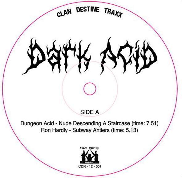 "Various/DARK ACID #1 12"""