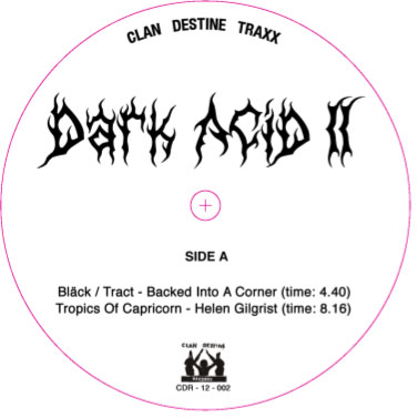 "Various/DARK ACID #2 12"""