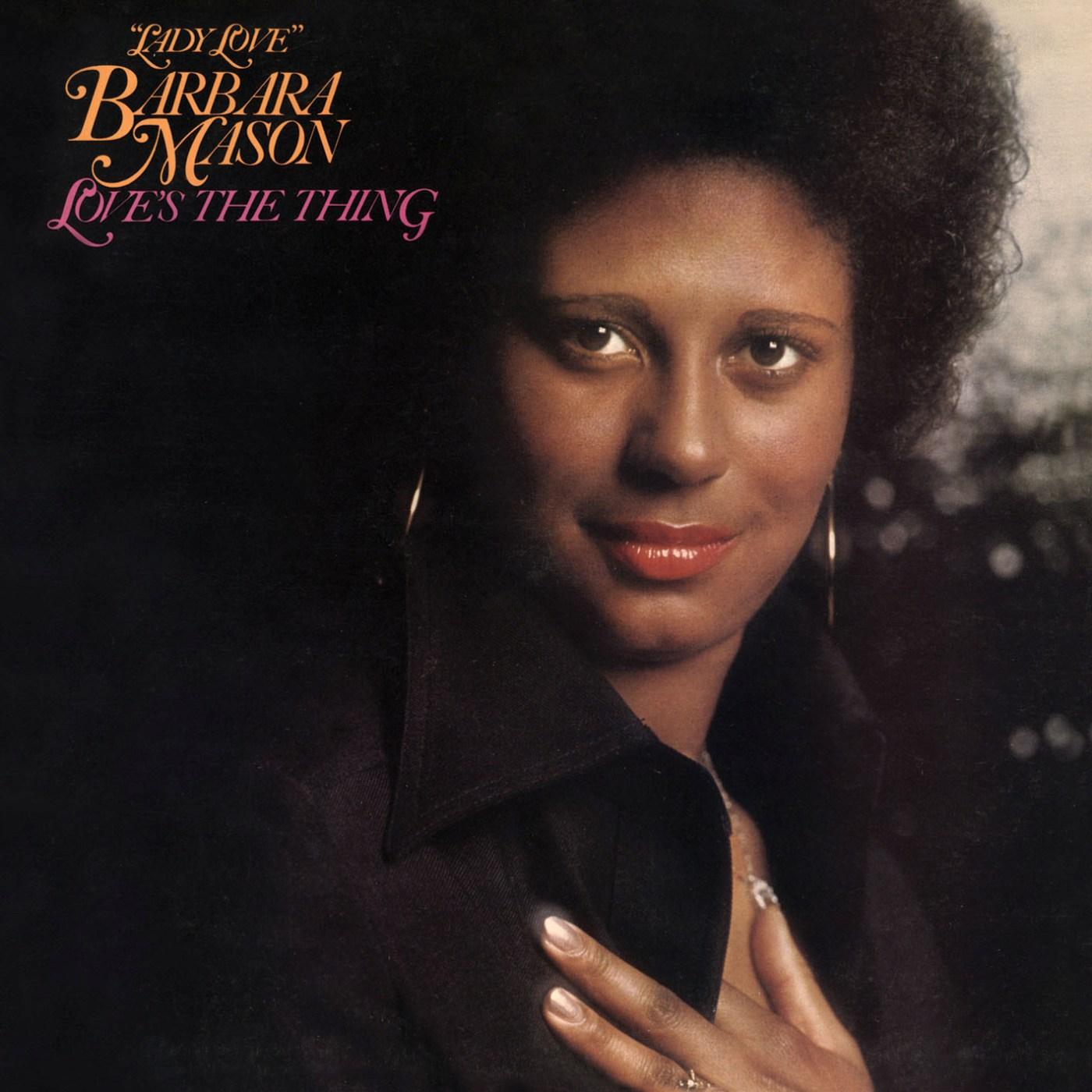 Barbara Mason/LOVE'S THE THING CD