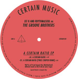 Groove Brothers/A CERTAIN RATIO 12""
