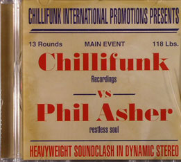 Phil Asher/HEAVYWEIGHT SOUNDCLASH MIX CD