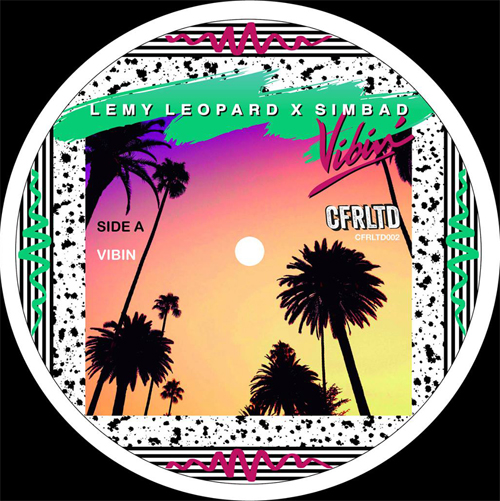 "Lemy Leopard & Simbad/VIBIN' 10"""