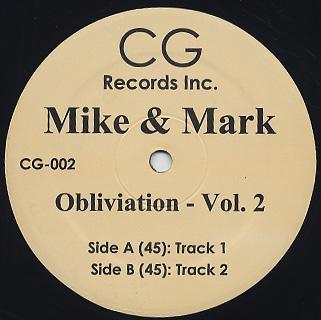"Mike & Mark/OBLIVIATION VOL 2 12"""