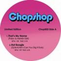 """Chopshop/VOL. 3 EP (PINK) 12"""""""