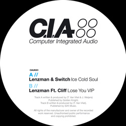"Lenzman/ICE COLD SOUL 12"""