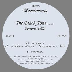 "Black Tone/ALCEDONIA (FULBERT REMIX) 12"""