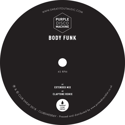 "Purple Disco Machine/BODY FUNK RMX'S 12"""