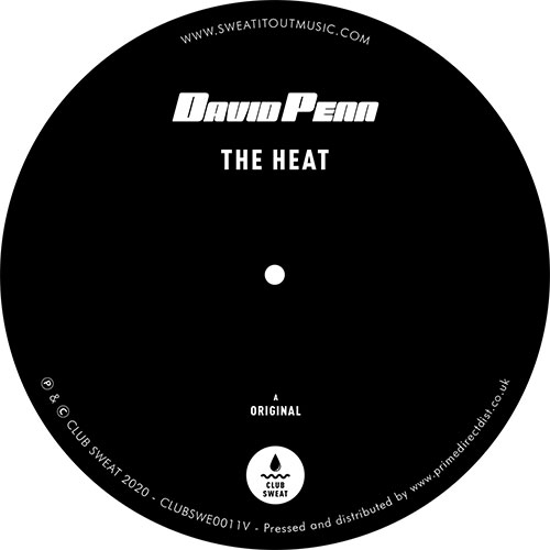 David Penn/THE HEAT 12""