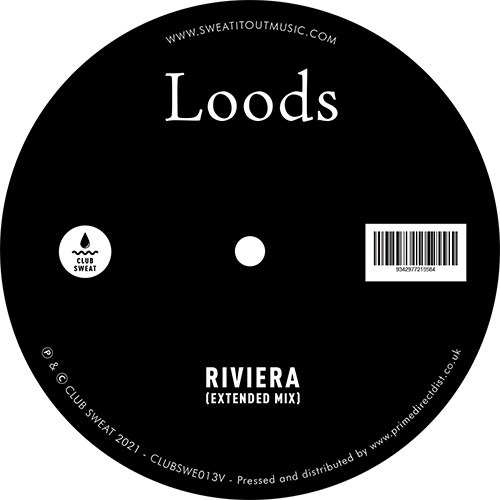 Loods/RIVIERA (1-SIDED) 12""