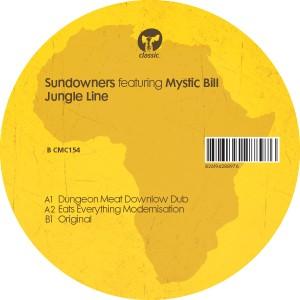 "Sundowners/JUNGLE LINE + REMIXES 12"""