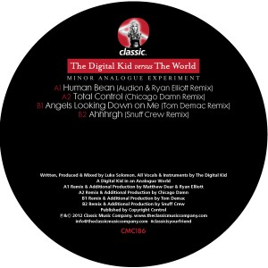 Digital Kid/MINOR ANALOGUE EXPER...12""