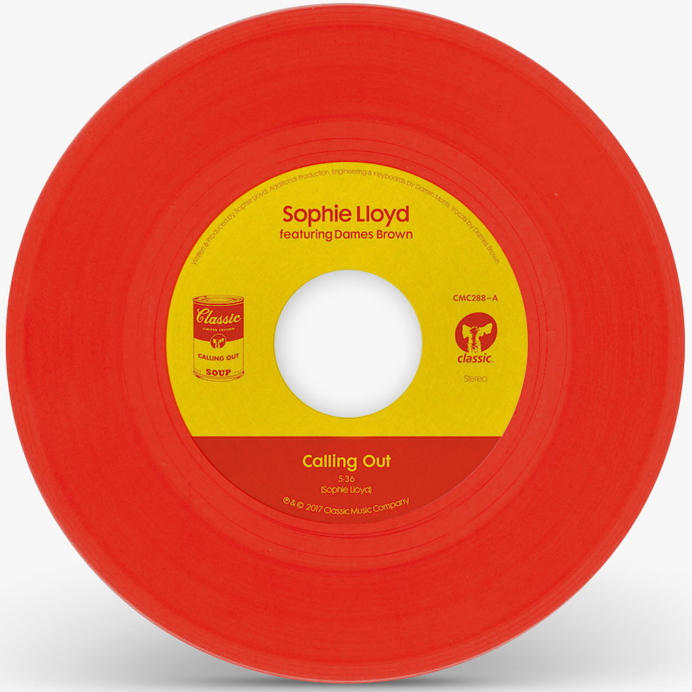 """Sophie Lloyd/CALLING OUT (RED) 7"""""""