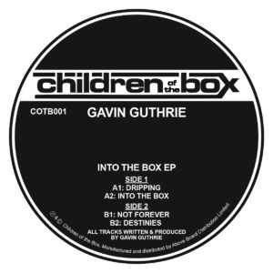Gavin Guthrie/INTO THE BOX EP 12""