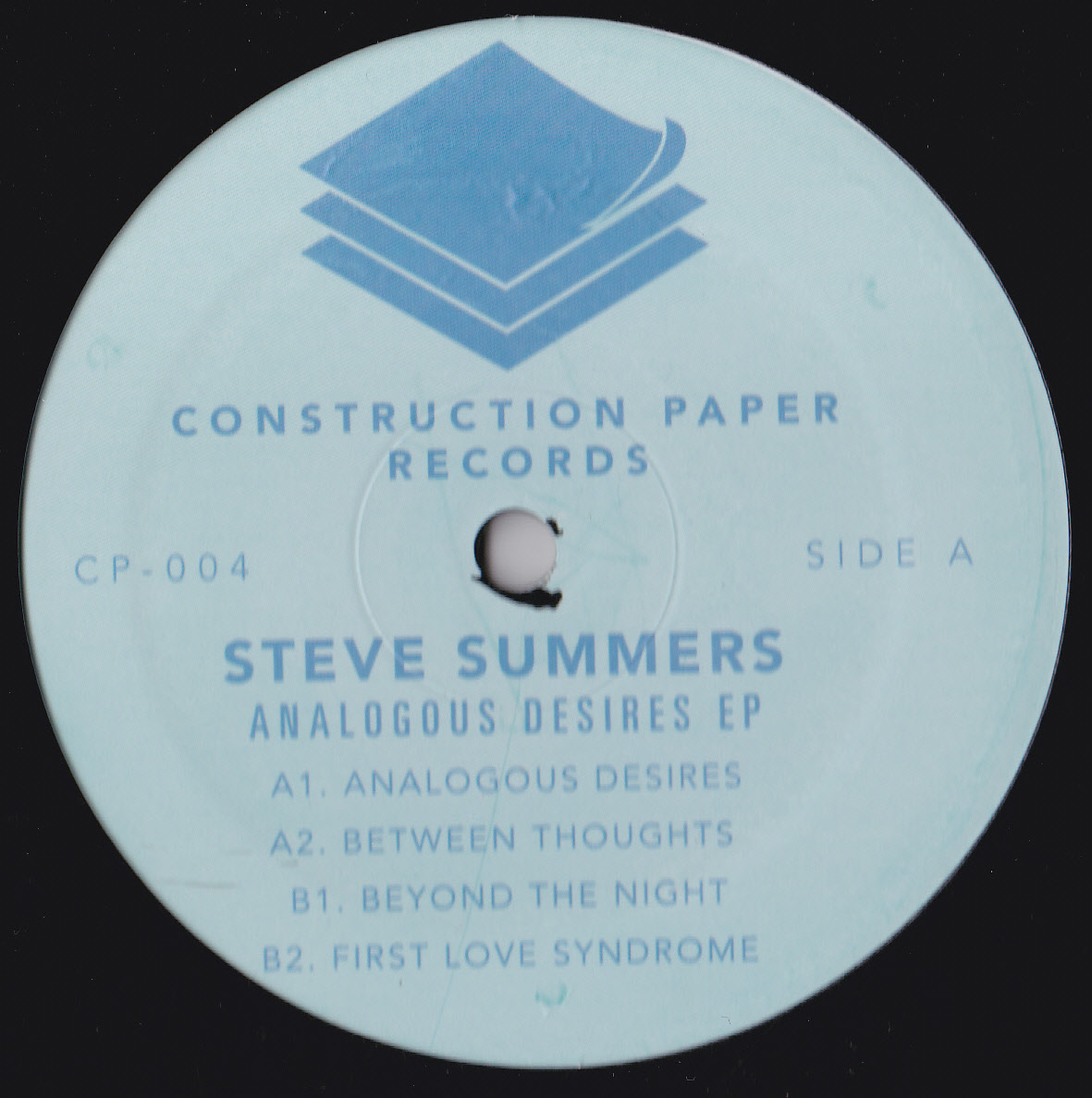 Steve Summers/ANALAGOUS DESIRES EP 12""