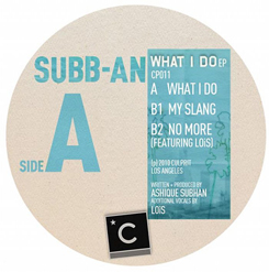 Subb-An/WHAT I DO 12""