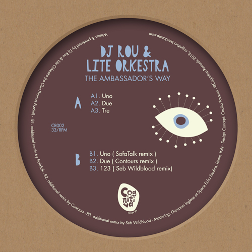 "DJ Rou & Lite Orkestra/AMBASSADORS.. 12"""