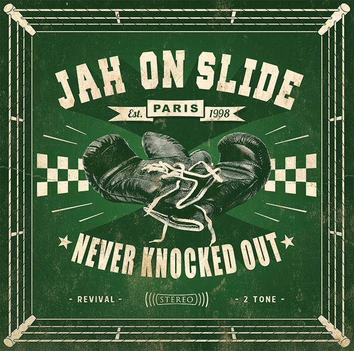 Jah On Slide/NEVER KNOCKED OUT LP