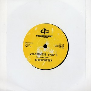 Speedometer/WILDERNESS 7""