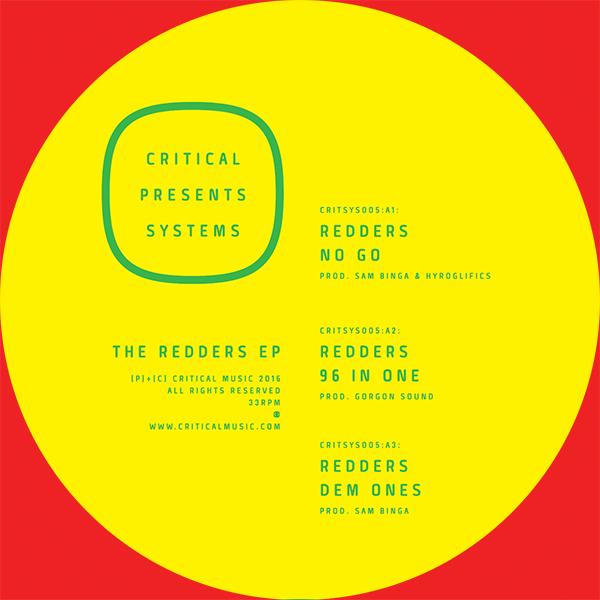 """Redders/THE REDDERS EP 12"""""""