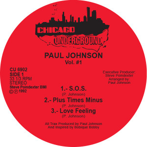 Paul Johnson/VOL. 1 12""