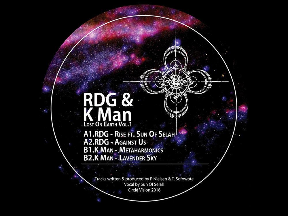 "RDG & K Man/LOST ON EARTH VOL. 1 12"""