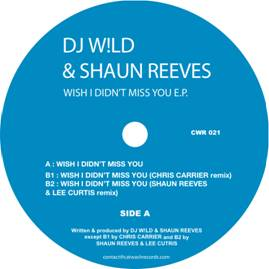 DJ Wild & Shaun Reeves/WISH I DIDN'T 12""