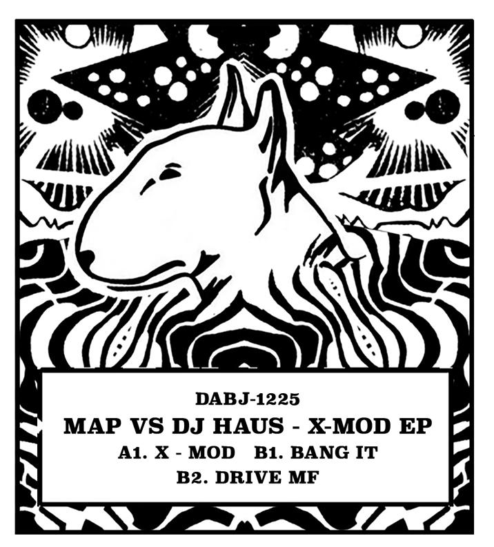"Mak & Pasteman vs DJ Haus/X-MOD EP 12"""