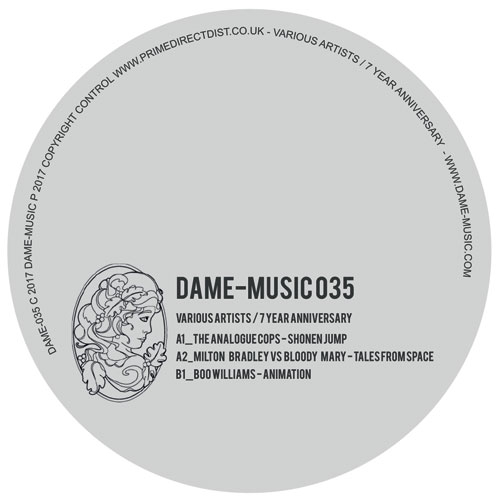 Various/DAME MUSIC - 7TH ANNIVERSARY 12""
