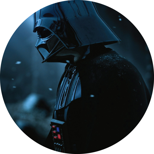 Darth Vader/STAR WARS (SIDE VIEW)SLIPMAT