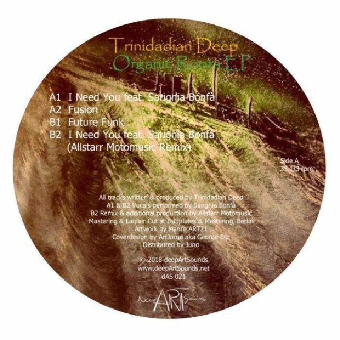 """Trinidadian Deep/ORGANIC ROOTS EP 12"""""""