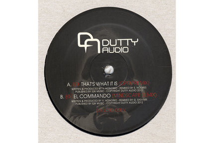 BTK/THAT'S WHAT IT IS (OPTIV REMIX) 12""