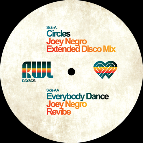 Joey Negro/CIRCLES (EXTENDED MIX) 12""