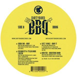 "Various/DIRTYBIRD BBQ SAMPLER 12"""