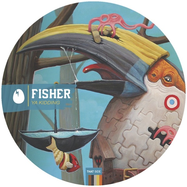 Fisher/YA KIDDING (WHITE VINYL) 12""