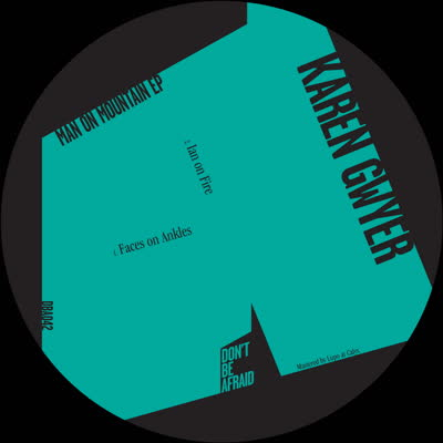 "Karen Gwyer/MAN ON MOUNTAIN EP 12"""