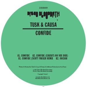 "Tusk & Causa/CONFIDE 12"""