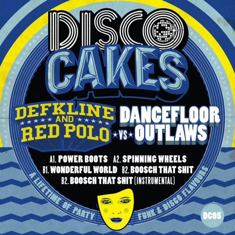 "Defkline & Red Polo/DISCO CAKES #5 12"""