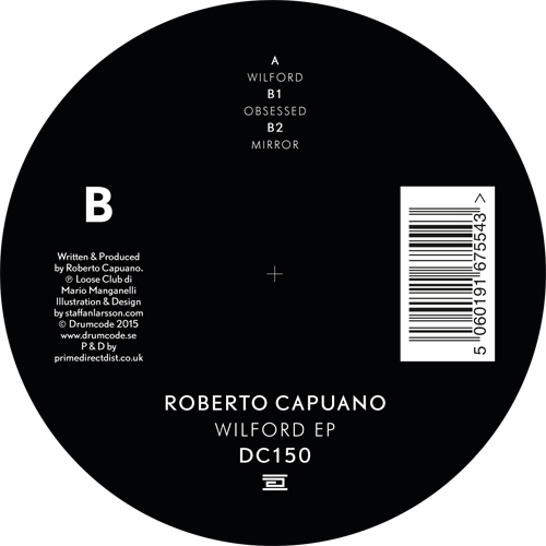 Robert Capuano/WILFORD EP 12""